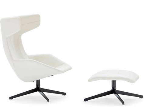 Armchair With Stool by Take A Line For A Walk Swivel Armchair With Foot Stool