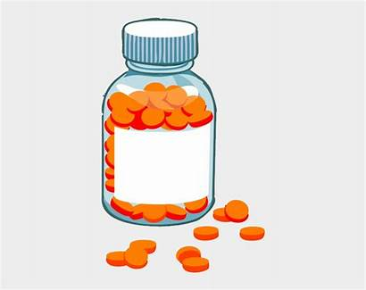 Vitamins Medication Administration Storage Clipart Cartoons Vitamin