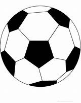 Soccer Ball Template Clipart Poems Computer sketch template