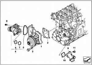 Original Parts For E60 530d M57n Sedan    Engine   Waterpump