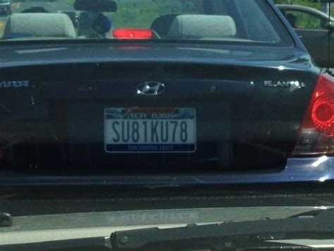 PHOTO: Syracuse basketball fan gets license plate to ...
