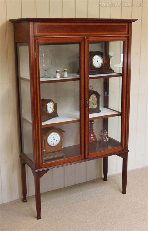 antique shop display cabinets for edwardian inlaid display cabinet antiques atlas 9032