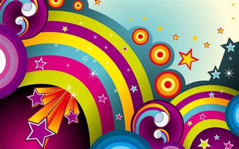 vector rainbows wallpapers hd wallpapers id