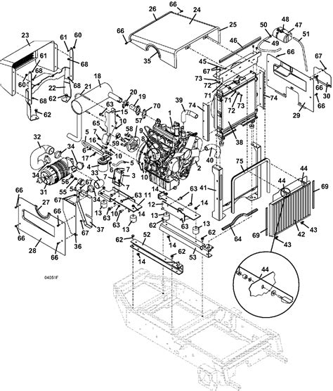 Starter Kubota Mower Assembly Generator Transmission Rear