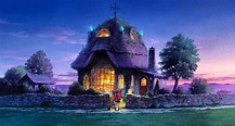 My dream house... . . . . . . . Mary and the witch's ...