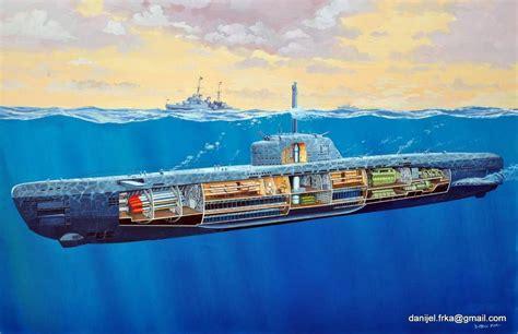 Venturer 4k Wallpapers by German Submarine Illustration German Submarines Boat