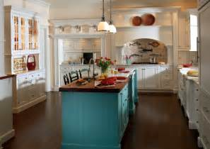turquoise kitchen island custom cabinetry project gallery plain fancy cabinetry plainfancycabinetry
