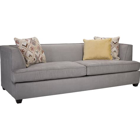 Broyhill Furniture Farida Contemporary Sofa With Tuxedo