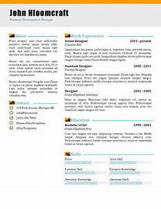 Advertising Resume Templates 22 Contemporary Resume Templates Free Download