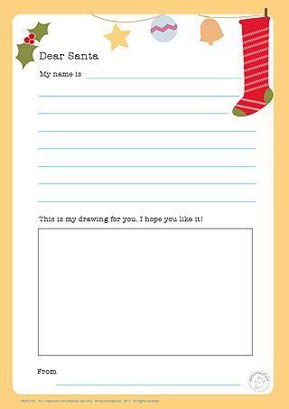 dear santa letter cute printable  love encouraging