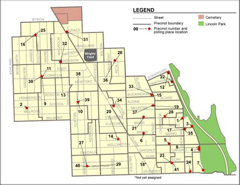 44th Ward Chicago Map | Zip Code Map