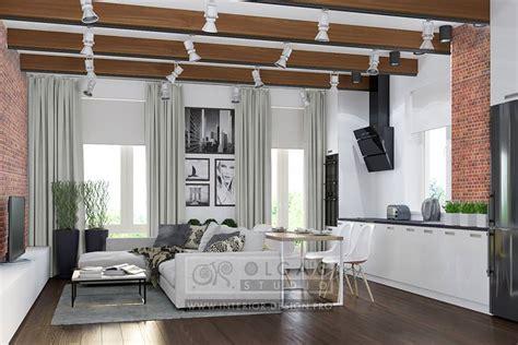 Modern Loftstyle Living Room Design Ideas Of 2015