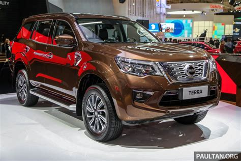 Nissan Terra Backgrounds by Giias 2018 Nissan Terra Navara Based 7 Seat Suv
