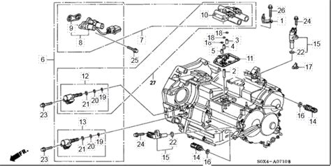 2012 Honda Civic Transmission Wire Diagram by My 99 Honda Odyssey Has A Shift In 1st And 2nd Gear