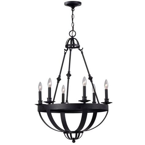 world imports lighting world imports magellen 6 light rust chandelier wi527442