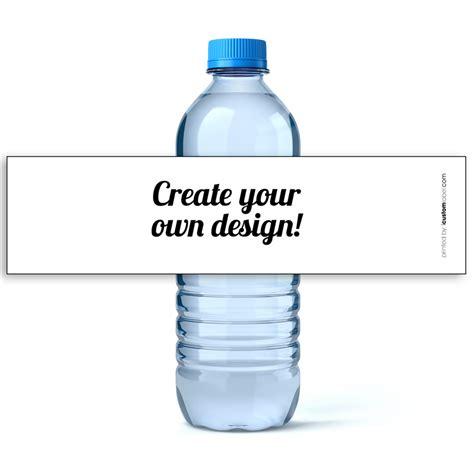custom water bottle labels icustomlabel