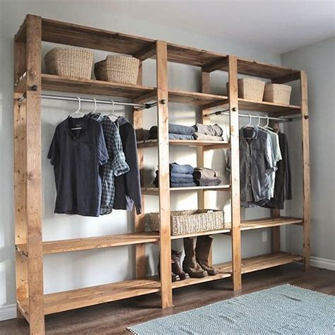 Wooden Wardrobe With Shelves by Adore This Would To Adopt Some Simplicity In My