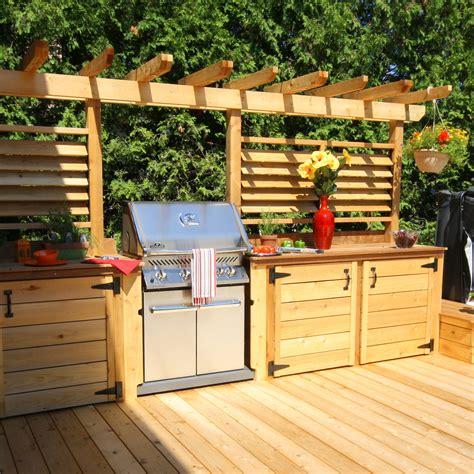 cuisine exterieur deck de piscines on shade structure metal