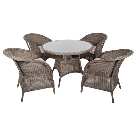 outdoor wicker table and chairs marseille wicker rattan garden furniture table 4 chairs set