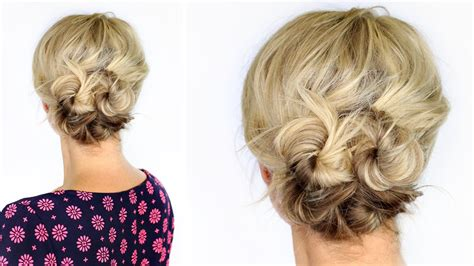 tips  easy diy updos  short hair hair style