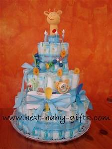 Unique Boy Diaper Cakes Boy Diaper Gift Instructions And