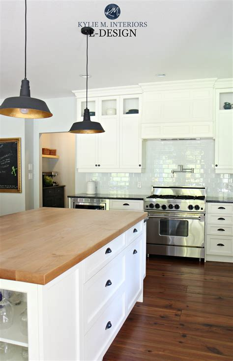 White Cabinets With Granite by Farmhouse Country Style Kitchen Cloud White Cabinets