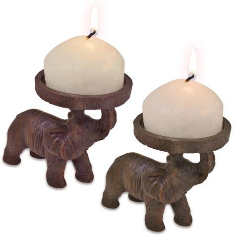 elephant candle holder 2 elephant church candle holders indian hindu