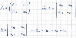 Eigenwerte Einer Matrix Berechnen : determinante berechnen ~ Themetempest.com Abrechnung