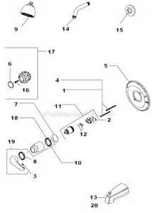 Glacier Bay Bathroom Faucets Cartridge by Delta Faucet 132900 Parts List And Diagram