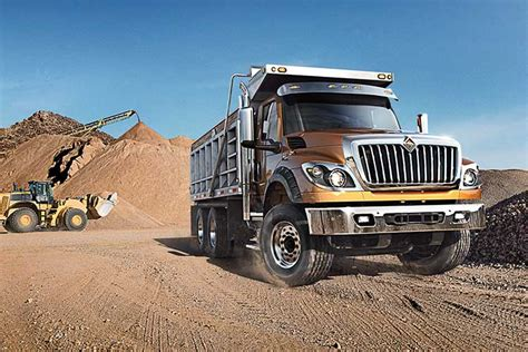 dump trucks international trucks