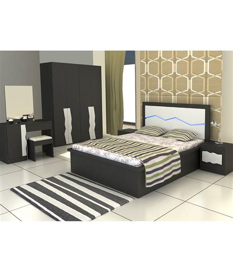bedroom set  king size  black buy bedroom set