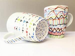 Tassen Bemalen Kinder : porzellan bemalen das alte geschirr neu gestalten ~ Orissabook.com Haus und Dekorationen