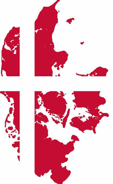 The flag of denmark is also known as dannebrog. Image - Flag map of Denmark (IM).png | Alternative History ...