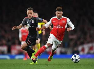 Arsenal reject Liverpool's opening offer for Alex Oxlade ...