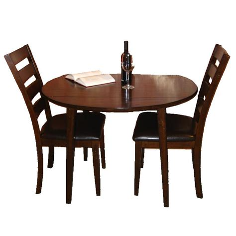 intercon kona 3 drop leaf dining table and ladder