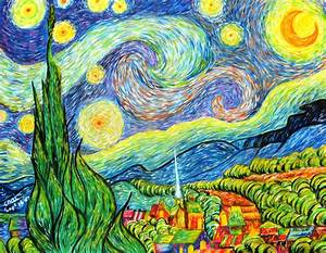My Great Paintings: Painting Parody of Vincent Van Gogh's ...