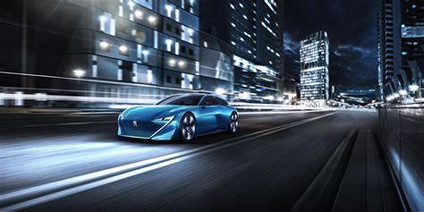 wallpaper peugeot instinct concept cars  driving