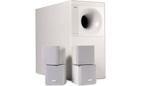 bose 174 acoustimass 174 5 series iii speaker system white at crutchfield