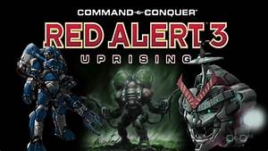 Red Alert 3 Uprising Expansion Pack Trailer - YouTube