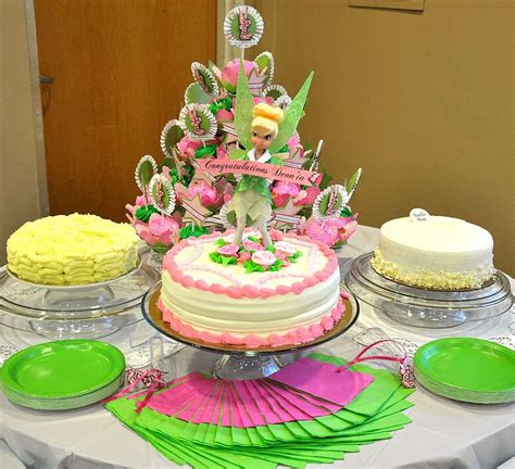 fantasy tinkerbell baby shower party ideas photo