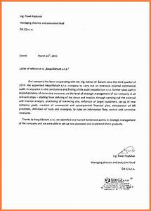 8 letter of recommendation for a company company letterhead With recommendation letter for a company template