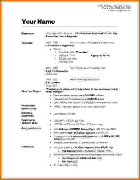 How To Write A Cv by 9 How To Make Cv For Student Lease Template