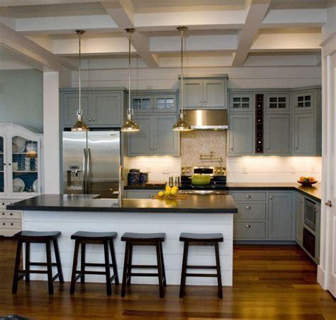 cuisines industrielles cuisine gris et bois en 50 modèles variés pour tous les goûts