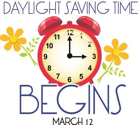 <b>Daylight</b> <b>Savings</b> Time Begins March 12 – Lexington Progress