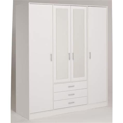 armoire de chambre blanche armoire de chambre blanche pax blanc auli miroir largeur