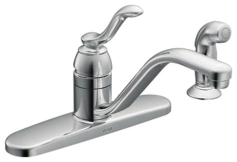 houzz kitchen faucets moen 87528 banbury single handle kitchen faucet with