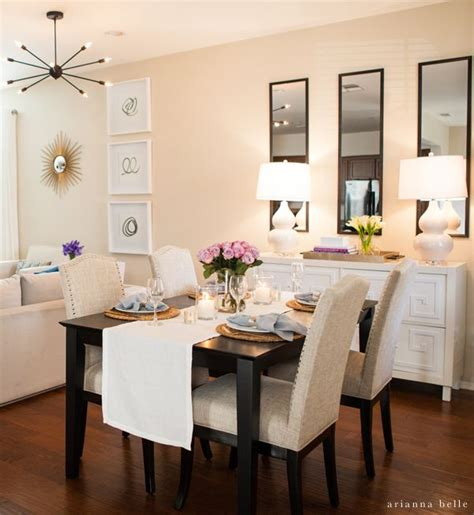 dining room table decorating ideas for best 20 apartment dining rooms ideas on