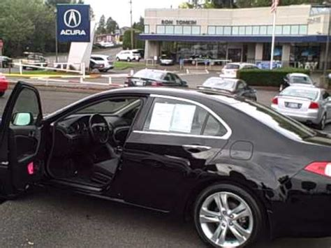 Acura Of Beaverton by 2010 Acura Tsx V6 Certified Beaverton Oregon