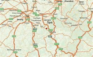 Spa Belgium Map