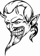 Devil Coloring Printable Skull Kleurplaat Demon Dibujos Colorear Devils Disegni Demons Adults Disegno Diavolo Colorare Diavoli Sketch Disegnare Ragazzi Gratis sketch template